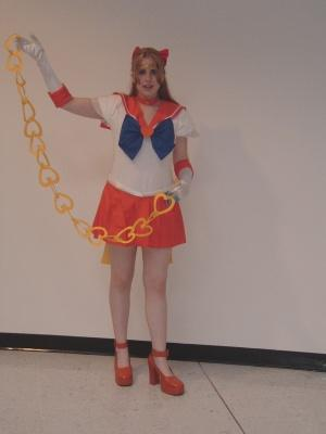 Super Sailor Venus from Sailor Moon Super S worn by Sakura
