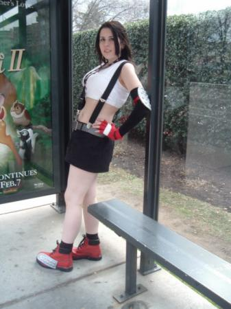 Tifa Lockhart from Final Fantasy VII worn by Sakura