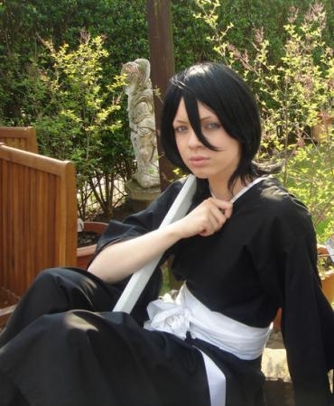 Rukia Kuchiki from Bleach worn by Straightener
