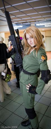 Sniper Wolf from Metal Gear Solid worn by Xing Cai