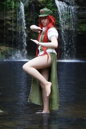 Hong Meiling from Touhou Project