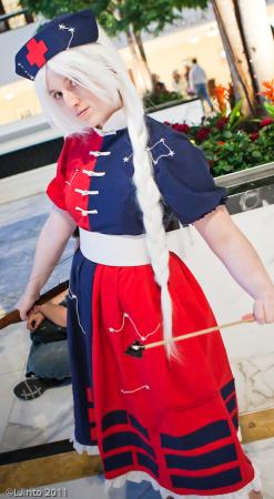 Eirin Yagokoro from Touhou Project worn by Xing Cai