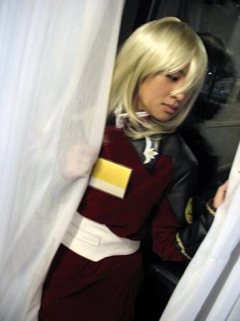 Rey Za Burrel from Mobile Suit Gundam Seed Destiny