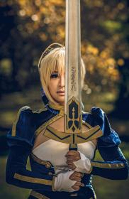 Saber from Fate/Stay Night by ?? ~Yeu~