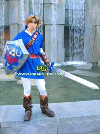 Link from Legend of Zelda: Ocarina of Time worn by Li Kovacs (pikminlink)