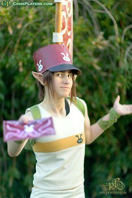 Postman from Legend of Zelda: Twilight Princess worn by Pikmin Link