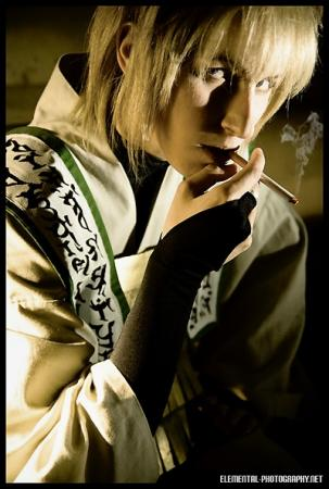 Genjo Sanzo from Saiyuki Reload worn by Pikmin Link