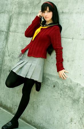 Yukiko Amagi from Persona 4 worn by Li Kovacs