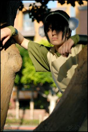 Toph Bei Fong from Avatar: The Last Airbender worn by Pikmin Link