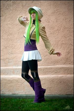 C.C. from Code Geass worn by Pikmin Link