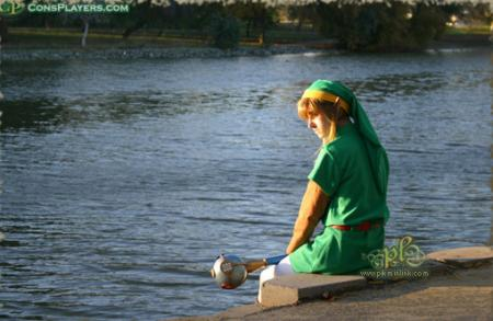 Link from Legend of Zelda: Oracle of Seasons worn by Li Kovacs