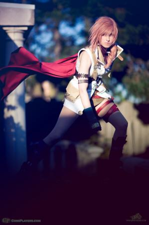 Lightning from Final Fantasy XIII worn by Li Kovacs (pikminlink)