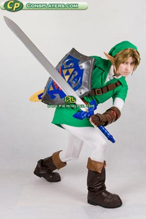 Link from Legend of Zelda: Ocarina of Time worn by Li Kovacs