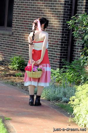 Aeris / Aerith Gainsborough from Kingdom Hearts 2 worn by Beverly