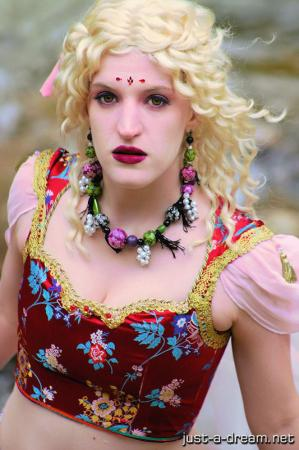 Terra Branford from Final Fantasy VI worn by Beverly