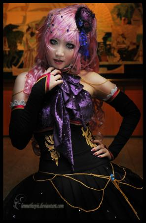 Megurine Luka from Vocaloid 2 worn by Lenneth