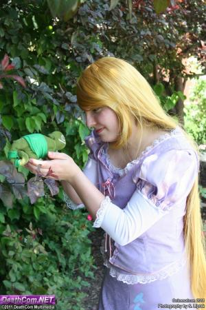 Rapunzel from Tangled worn by Michiko