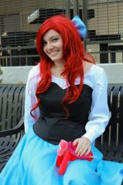 Ariel from Little Mermaid worn by Michiko