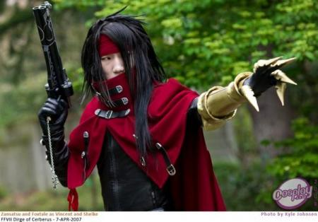 Vincent Valentine from Final Fantasy VII: Dirge of Cerberus