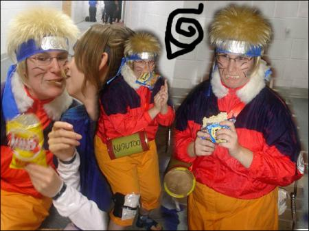 Naruto Uzumaki from Naruto worn by LainaBug