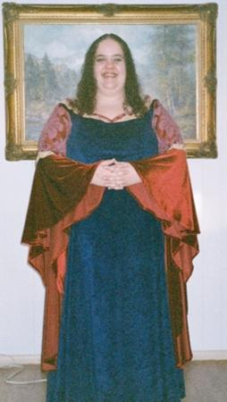 Arwen Undomiel from Lord of the Rings worn by Lady Rosebride