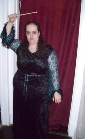 Bellatrix Lestrange  (Black) from Harry Potter worn by Lady Rosebride