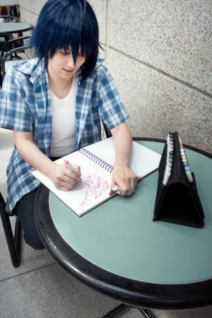 Mashiro Moritaka from Bakuman