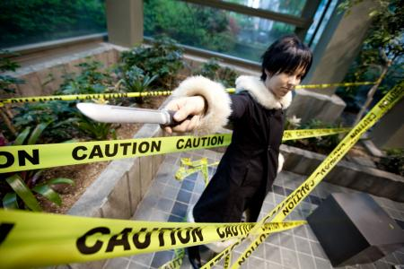 Izaya Orihara from Durarara!! worn by ultima