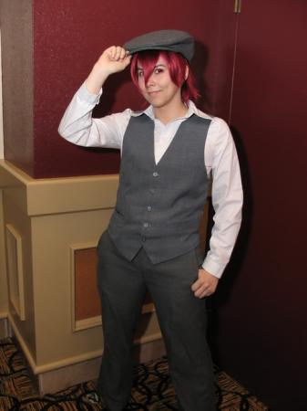 Simon Cozzato from Katekyo Hitman Reborn! (Worn by ultima)