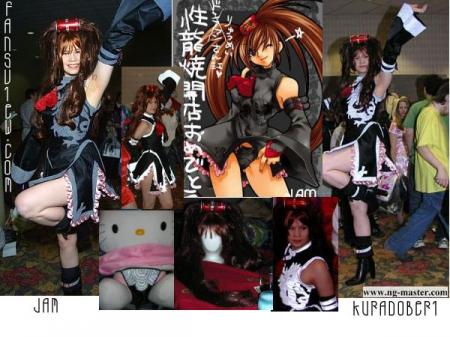 Jam Kuradoberi from Guilty Gear X