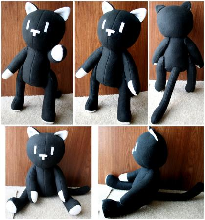 Mr. Mew from The World Ends With You worn by HezaChan