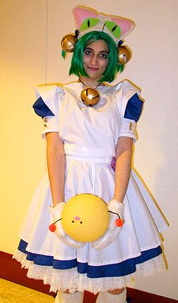 Dejiko from Di Gi Charat worn by HezaChan