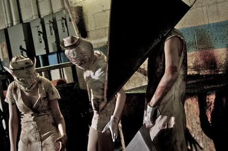 Pyramid Head from Silent Hill 2 worn by Umister