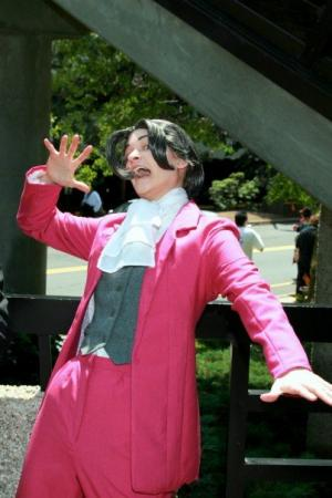 Miles Edgeworth from Phoenix Wright: Ace Attorney