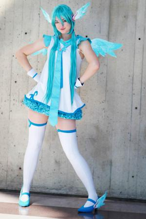 Hatsune Miku from Hatsune Miku -Project DIVA  2nd