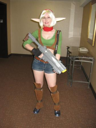 Tess from Jak II
