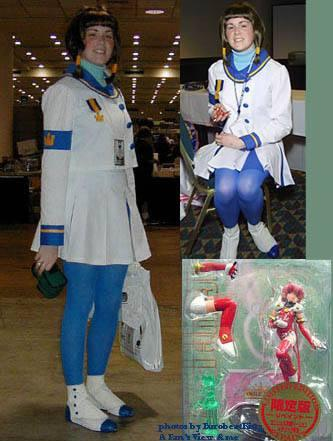 Misaki Suzuhara from Angelic Layer worn by Sala