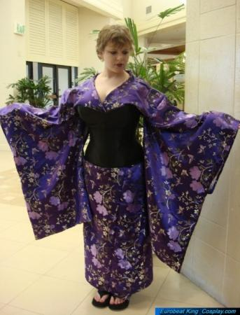 Kimono from Original:  Historical / Renaissance worn by LuckInSpades