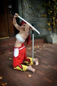 Erza Scarlet from Fairy Tail worn by bossbot