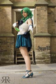 Sailor Neptune from Sailor Moon worn by bossbot