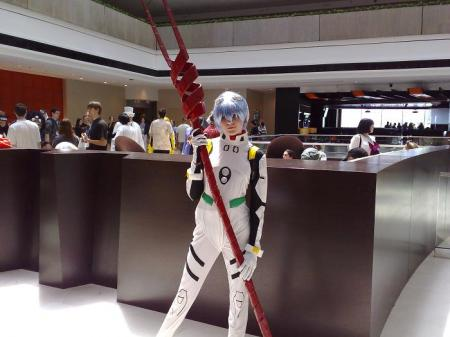 Rei Ayanami from Neon Genesis Evangelion worn by XBaNaNaX