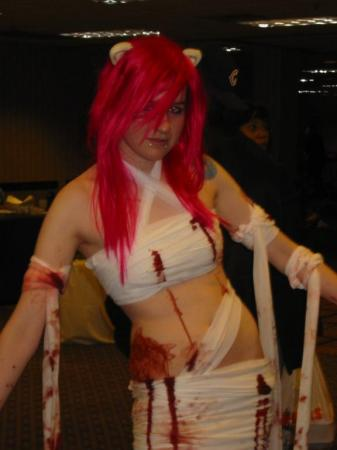 Nyuu/Lucy from Elfen Lied worn by XBaNaNaX