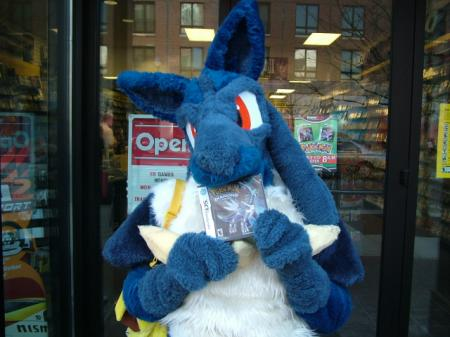 Lucario / Rukario from Pokemon