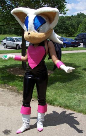 Rouge the Bat from Sonic Adventure