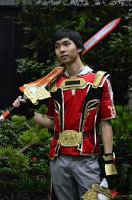 Lu Xun from Dynasty Warriors 8
