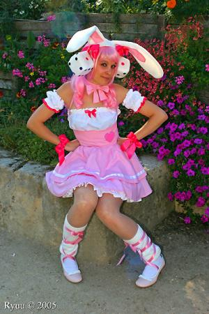 Rabi en Rose / Usada Hikaru from Di Gi Charat worn by Katfly