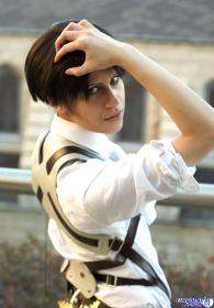 Levi from Attack on Titan worn by Anti Ai-chan