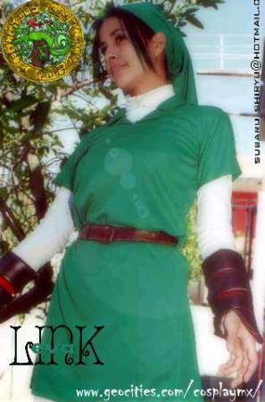 Link from Legend of Zelda worn by EVA CHAN