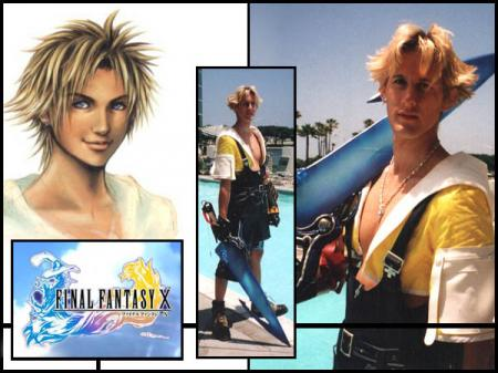 Tidus from Final Fantasy X worn by SozokuReed