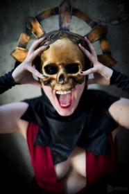 Cultist Acolyte from Darkest Dungeon worn by Avianna
